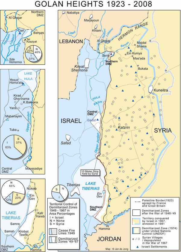Golan Heights 1923-2008
