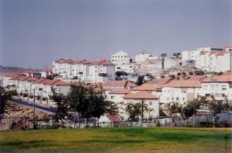 Israeli settlement of Beitar Ilit in the West Bank