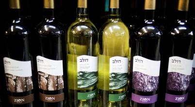 Israeli settlement wine
